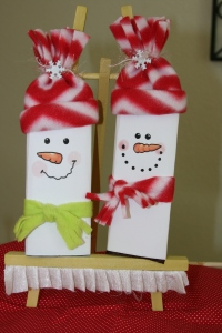 Frosty The Snowman Hershey candy bar wrappers.